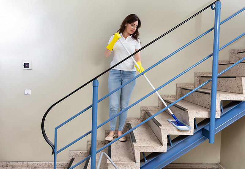 Najczęściej wykonywane usługi wramach standardowego sprzątania wspólnoty mieszkaniowej